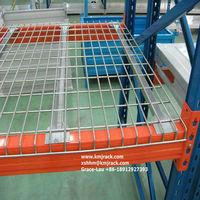 Welded Wire Fence Mesh Panel For Pallet Racks