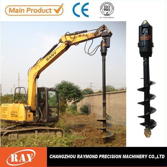 Ground Hole Drilling Machines/Digger for 4.5T to 8T Excavator drilling machine