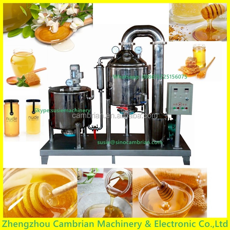 300L thicken tank honey processing machine with tank with sample taking hole