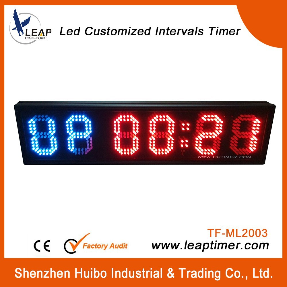 gym training LED portable digital interval timer