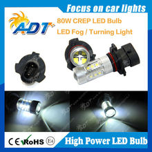 Auto car light 9005XS CR EP 80W CR LED lamp with white color light