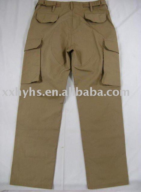 Cotton and Polyester cargo pant