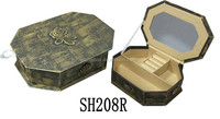 Alibaba export mother of pearl inlaid jewelry box bulk products from china