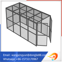 10 years factory Pallet packing strong steel storage cages