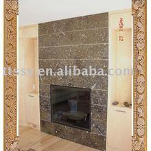 Slate fireplace for wall decoration