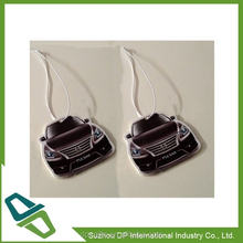 Car Shaped Hanging Car Freshner/ Paper Air Freshner for promotion