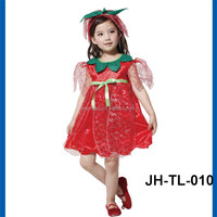 High quality polyester Halloween pumpkin costumes Party cosplay Pumpkin costume for girls