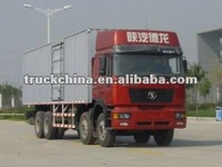 SHACMAN LORRY TRUCK with VAN BODY