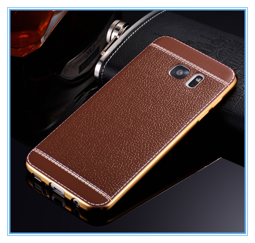electroplating tpu android cell phone case for samsung S7
