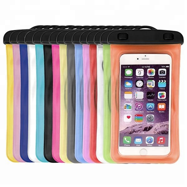 Fashion Cell Phone Waterproof Bag Case With Headphone Jack And Arm Band