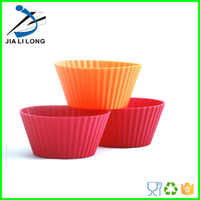 Eco-Friendly silicone cake mould cookie cup,bowl shaped silicone cake mould for baking, Manufacturer