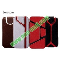 Business Joyroom Xiang Series Sport Style Vertical Stand Flip Leather Case for iPhone 5 5S