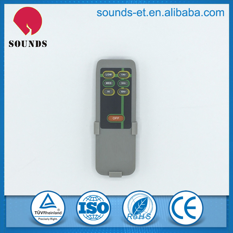 Factory design and produce IR or RF remote control for fan
