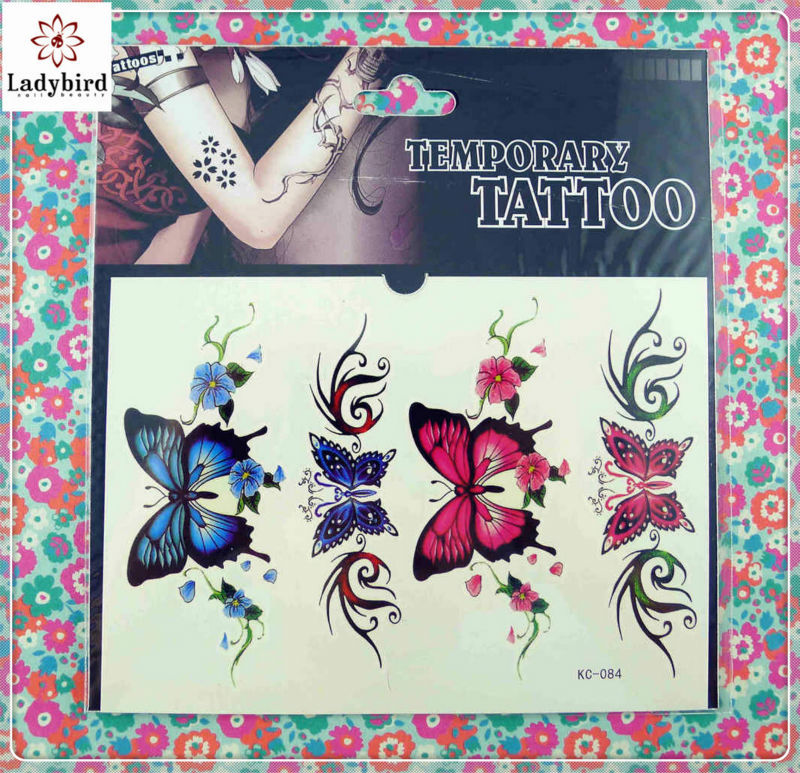 3D custom temporary tattoos body art tattoo