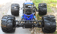 2016 new product large scale 4WD 2.4G full scale off-road gas power monster truck 5th scale 30cc rc car ERC50