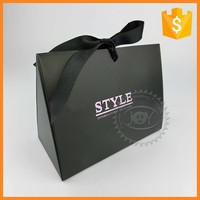 Fashion luxury shopping paper bag manufacturer from China