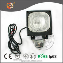 "4"" Square 9-16V 35W/55W 6000K Multifunction HID Work Lights for Truck/Tractor/4x4/Off Road/ATV/Vehicle/Bus"