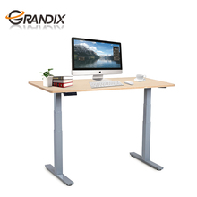 Hot sale high quality sit to stand motorized desk,adjustable height workstation