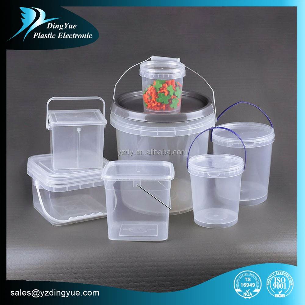 1l~8L HDPE plastic container with wheels Multiple Colors availble