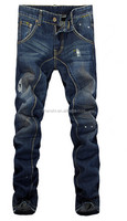 Top Quality Brand Name Men High Waisted Denim Jeans
