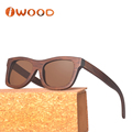 Charcoal Fashionable Polarized UV400 wooden bamboo sunglasses for ladys