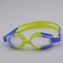 High quality soft silicone free earplugs prescription anti-fog swim goggles