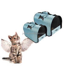Cat pet carrier box with stainles steel frame