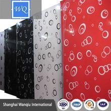 uv glossy board/ MDF Panel for wall interial decoration