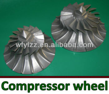 Turbo turbine wheel/turbo compressor wheel