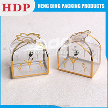 customized fancy plastic favor box packaging box