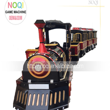 NQK-F012016 New promotion high quality children electric train trackless train electric amusement kids train for sale