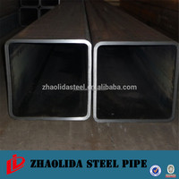 ms steel hollow section square steel pipe/iron square tube gate made in China