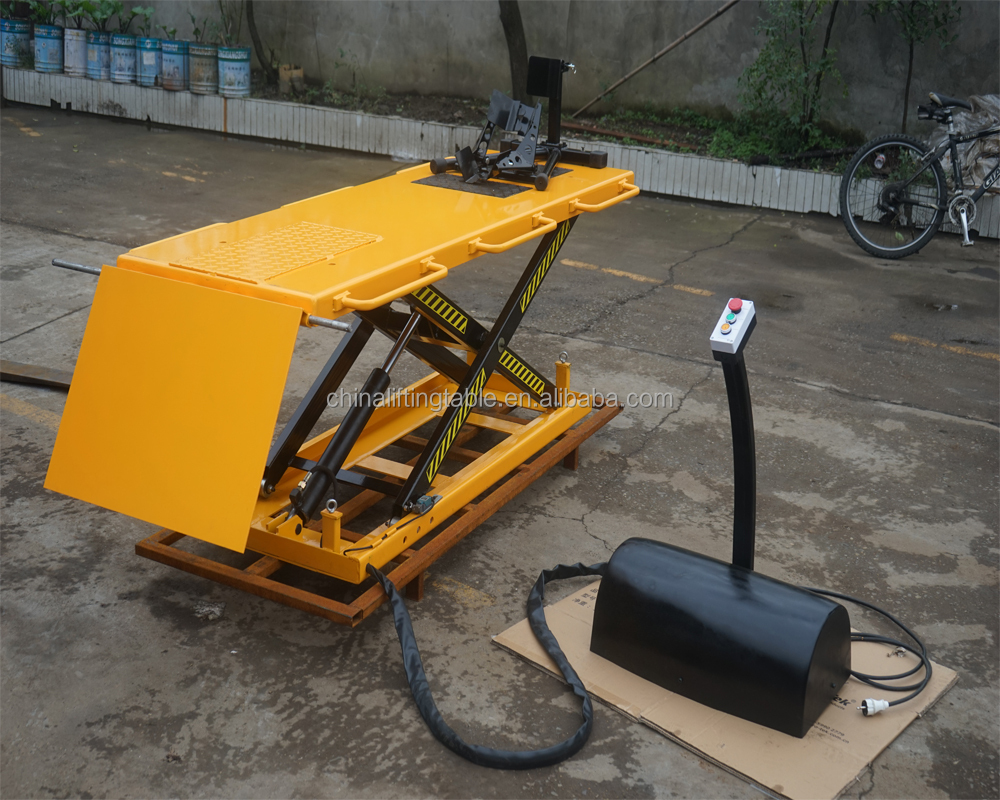 Factory Sale Various Widely Used motorcycle lift table with high quality