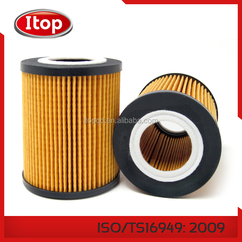 ISO Certification Standard size car oil filter , auto/car/truck filter oil for toyota