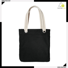 Good reputation Solid color canvas tote bag for shopping bag