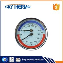 Factory supply Remote Reading dial temperature gauge hot water bimetal thermometer