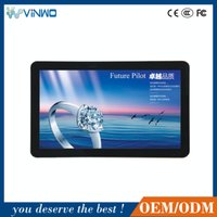 lcd ad player with advertising light box32 wall mount, landscape screen, quality multimedia photo kiosk with high quality