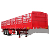 CIMC fence truck cargo trailer alibaba china for sale low price