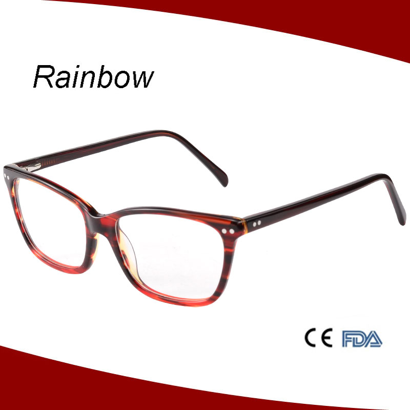 Transparent spectacle frames fashion glasses optical frame italy design