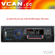 hot sale with led/lcd display car mp3 player In dash One din car mp3 player fm transmitter usb