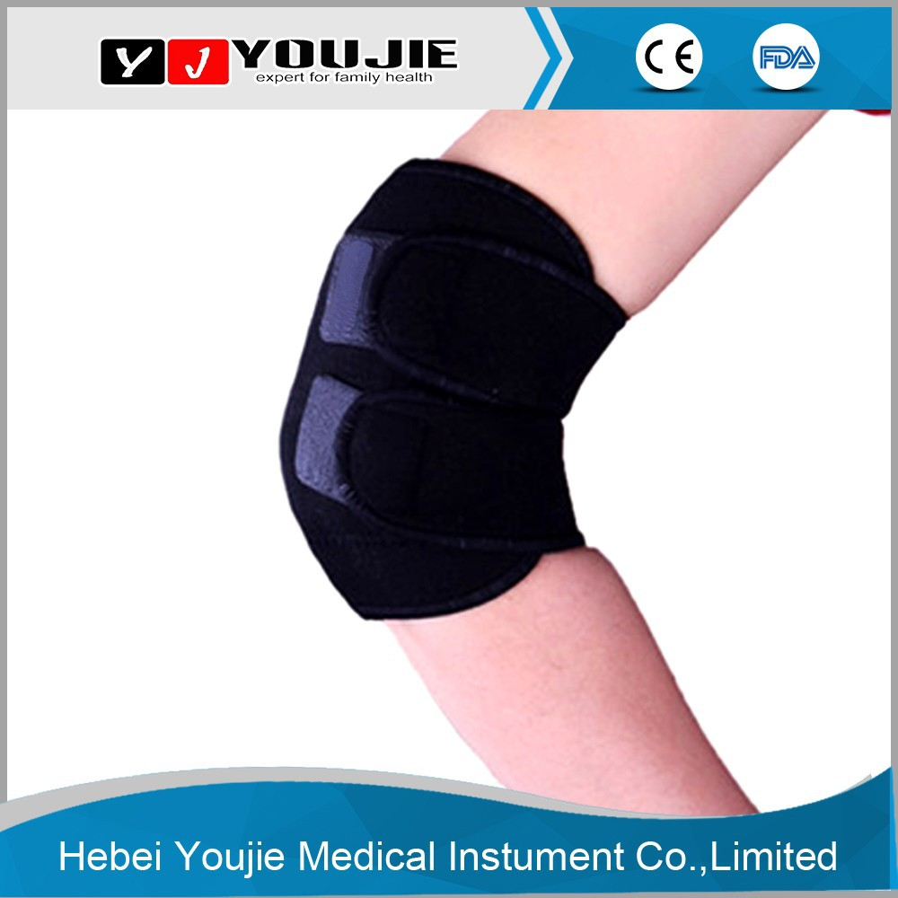 China supplier magnetic heating elbow brace pad for joint pain
