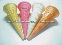 Smarty Colorful Baked Wafer Cones for Sale