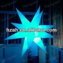shooting inflatable stars decoration for fasion show