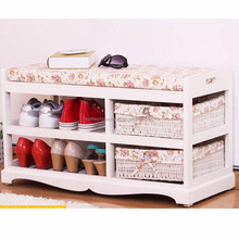 HM165061 Most Popular Colorful Storage Shoe Bench Bathroom <strong>Furniture</strong>