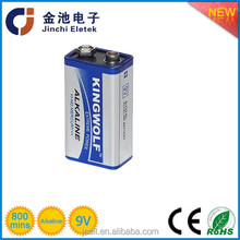 Primary & Dry Battery 9v 6lr61 Alkaline Dry Battery for Motorcycle