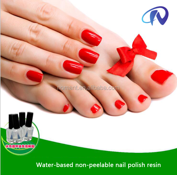Nail Polish Resin High Quality Water - based tasteless