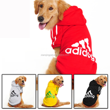 High Quality Adidog Dog cloth with 3 bones large dog sweater