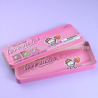 Metal Tin Craft Pencil Case