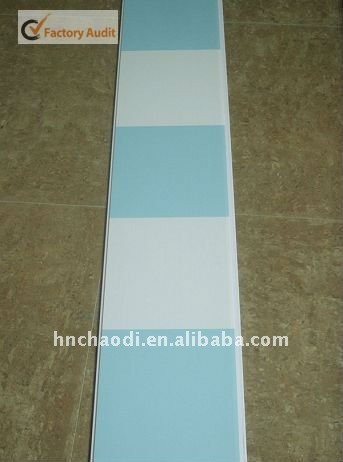 interior decorative material washable pvc wall panels( CZ 0090)