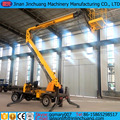 12m 13m 14m self propelled electric articulated boom lift